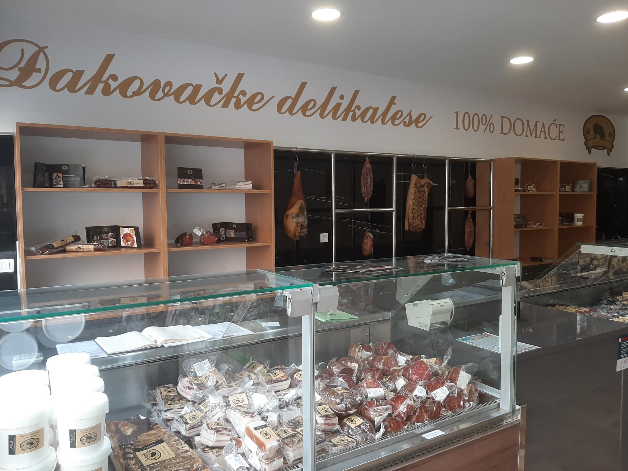 Prodajna mjesta Đakovačkih delikatesa