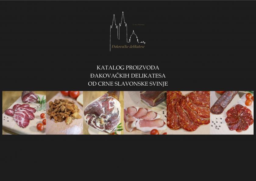 Katalog proizvoda Đakovačkih delikatesa